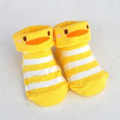 ぴよこぴよベビー靴下ボーダー柄9~12cm(日本限定)